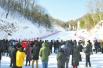 洛阳白云山景区冰雪乐园滑雪场正式开门迎客