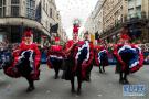 英国伦敦举行巡游喜迎新年