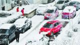 中央气象台 今天早上继续发布暴雪橙色预警
