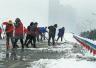 """平顶山发布""""扫雪令"""" 近4000人上街扫雪"""