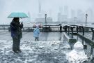 上海初雪如约而至