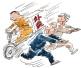 快递外卖去年在沪发生交通事故117起 9人死亡