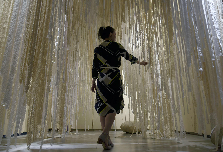 杭州举办中瑞蕾丝主题跨界艺术展
