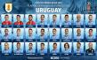 乌拉圭公布23人最终名单:苏牙、卡瓦尼领衔