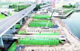 长春东大桥主体结构预计8月末完工 预计九月末通车