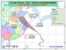 """台风黄色预警:""""安比""""加速趋向我国 将于22日登陆"""