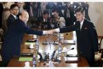 韩朝红十字会今日互换离散家属团聚活动最终名单