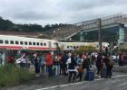 """台湾""""普悠玛""""列车出轨已造成22死171伤 暂无大陆旅客伤亡"""
