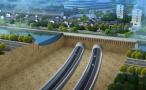 城西到城北10分钟 杭州首条穿运河隧道明年6月贯通