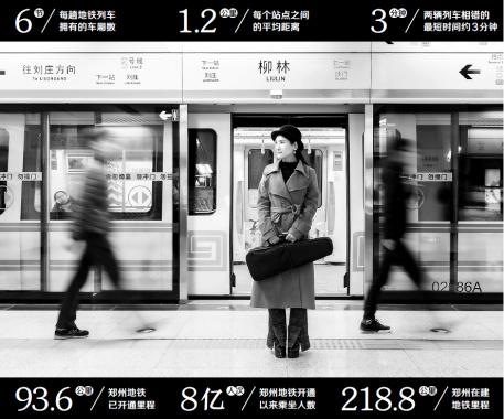 郑州地铁:驶过人们的梦境