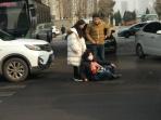 私家车司机过斑马线不礼让 撞伤老人负全责