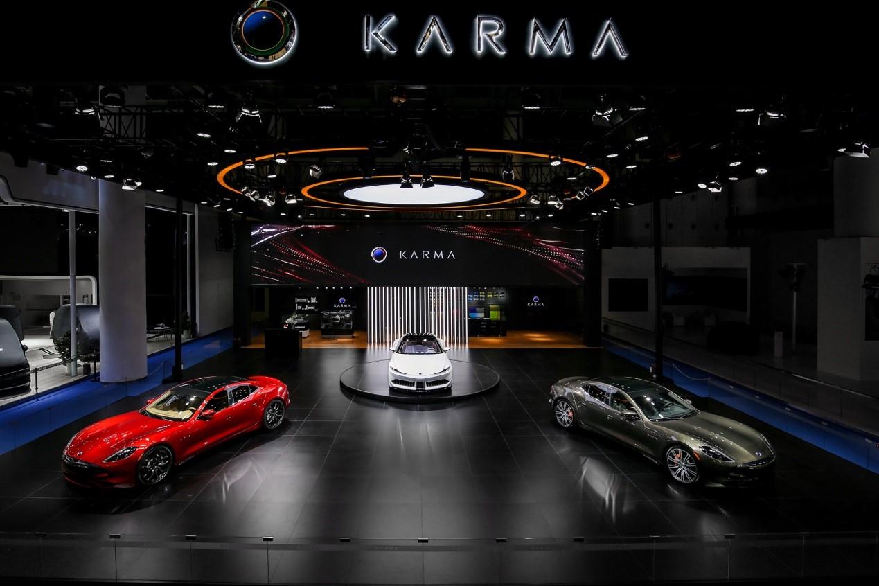 2019成都车展:Karma汽车携2款增程式车型亮相