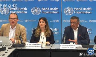 世卫组织:中国及时分享新型冠状病毒疫情信息