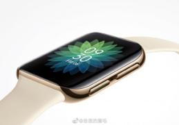 OPPO Watch真机图首曝:高颜值双曲面设计 采用安卓系统