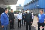 河南省生态环境厅副厅长薛崇林调研济源移动源污染防治工作