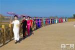 河南三门峡:昔日滩涂地 今日T型台