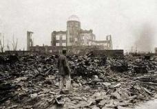 1945年美国在日本广岛投掷原子弹