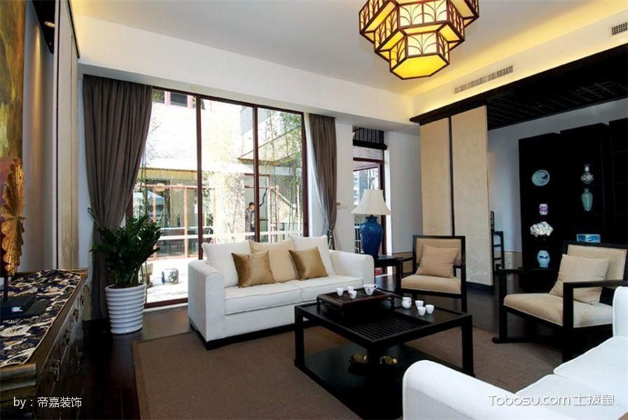 现代简约时尚设计大户型装修-中国搜索家居
