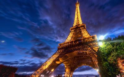 5:巴黎埃菲尔铁塔法式浪漫的标志——埃菲尔铁塔