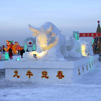 佳木斯三江国际泼雪节