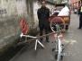 成都一无业男子砸碎多辆共享单车卖废铁 现被刑拘