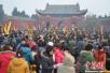 河南太昊陵除夕至初一接待游客35万人次