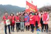 海阳市留格庄微光爱心义工队走访慰问困难家庭