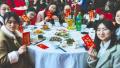 川大食堂为春节留校学子备年饭 三荤两素仅1分钱