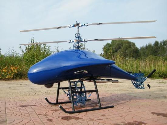 直升机弄两层螺旋桨是为了什么?图片