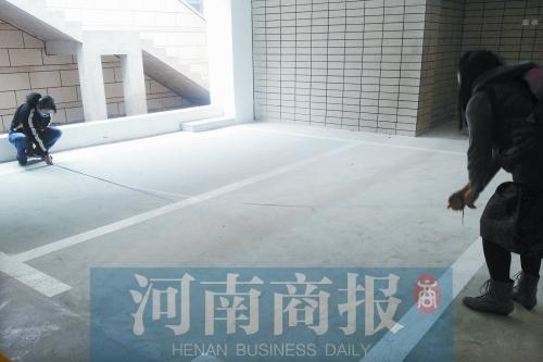 郑州市民花15万元买车库变成俩车位长基置业回应