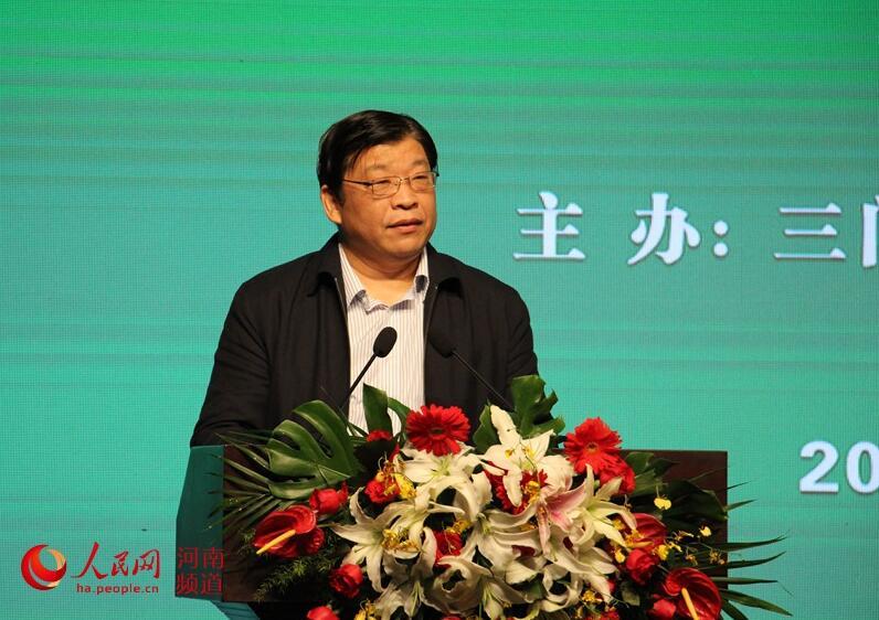 河南省政协党组副书记、副主席张广智致辞\\r\\n