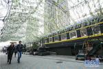 大连把绿皮火车改造成2万平米创意小镇