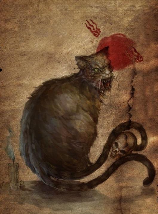 "mg电子游戏摆脱网址:妖猫与猫鬼:古代世界对""喵星人""的灵异想象"