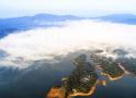 雾笼江西仙女湖