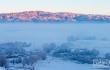 """冲乎尔的""""雪树银花""""童话镇 仿佛冰雪幻境"""