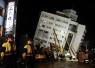 台湾花莲再发6.1级地震 云门翠堤大楼搜救一度暂停