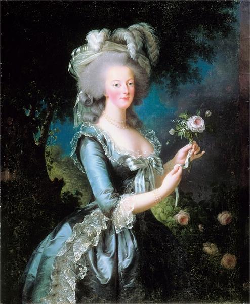 玛丽安托瓦内特与玫瑰