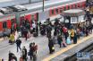 商丘火车站迎来节后首个客流高峰 发送旅客近6万人