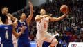 男篮世界杯预选赛:中国男篮大胜中国香港男篮