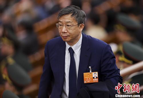 易纲。 <a target='_blank' href='http://www.chinanews.com/'>中新社</a>记者 杜洋 摄