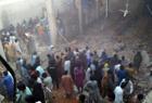 巴基斯坦仓库塌屋顶
