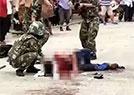 男子刺士兵被击毙