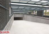 洛阳隋唐园立交地下停车场主体完工 设有884个停车位