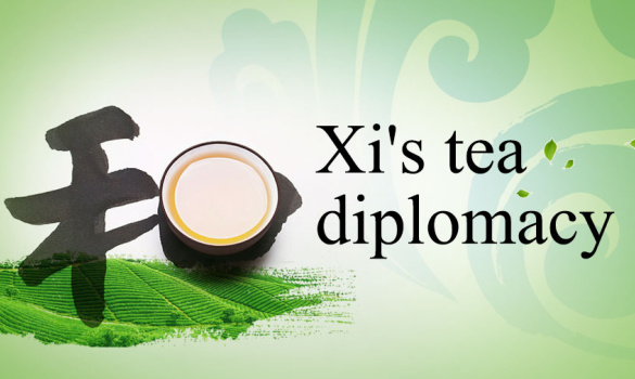 Xi's tea diplomacy