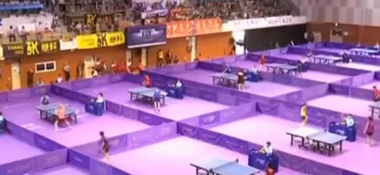 国际乒联世界巡回赛韩国公开赛 韩朝联队亮相 混双搭档晋级16强