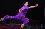 亚运会首金:中国选手孙培原获得男子长拳冠军