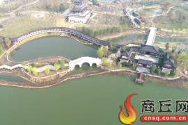 建筑主体已成型 汉梁文化公园即将完美呈现