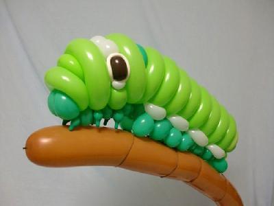 长气球动物造型图解