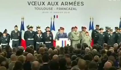 法国 马克龙:法将维持在叙军事存在