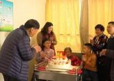 """医院里的""""生日趴"""":常州一老人新年首日喜迎百岁生日"""